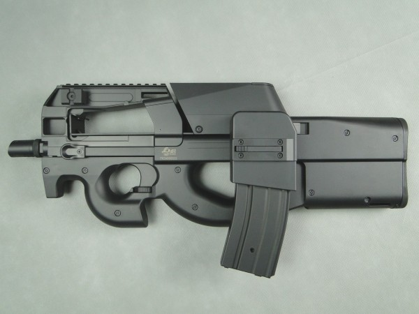 JingGong P98 AEG with M4 mag adapter