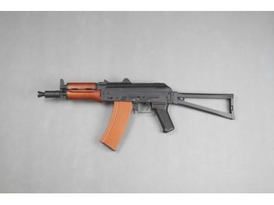金弓 AK74U 電動退膛 AEG (金身真木護木)