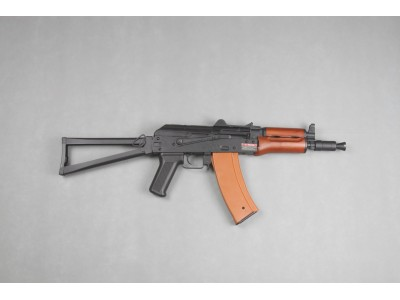 JingGong AK74U EBB AEG (Metal Receiver + Real Wood Handguard)