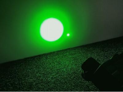 Tan PEQ15, Green laser+Green Light