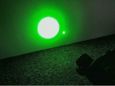 Black PEQ15, Green laser+Green Light