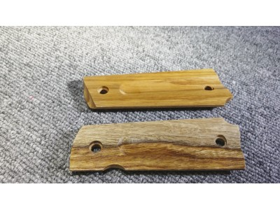 Real Wood Hand Grip Plate for 1911/MEU