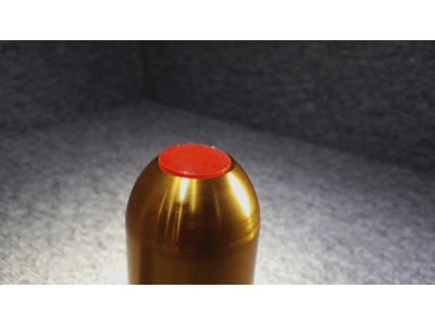 Rubber Head Grenade (Gold and Black)