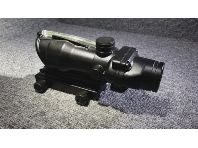 Optical Fiber AG style Dot Sight ( Green Fiber )