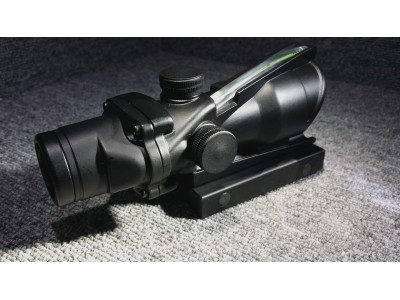 AG style 4X scope ( Red Fiber )