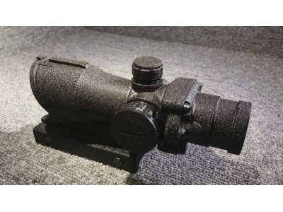 ACOG style 紅點鏡 ( Shiny  Black)