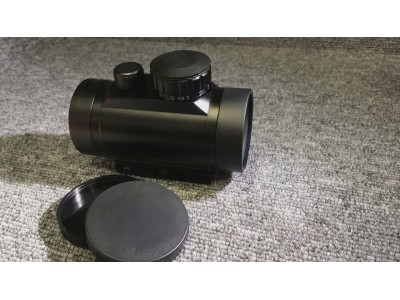 Red and Green Dot Scope ( 40mm, Black )