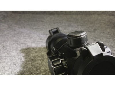 Dot Sight with Offset mount (Black)