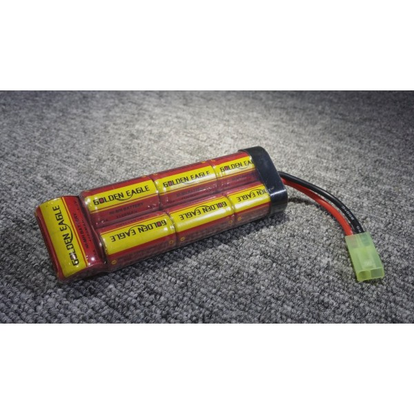 Golden Eagle 8.4V rechargeable NiMH battery for Airsoft