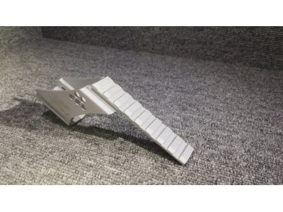 Building Fire Rail Mount Base for Hi-capa (Type 1, Silver)