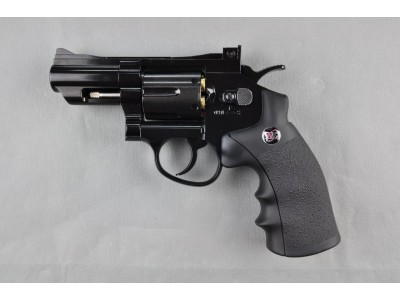 "WG 2.5"" 6mm Revolver (Black) - CO2"
