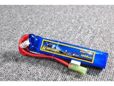 Li-po battery (11.1V, 1000mah, 25C)