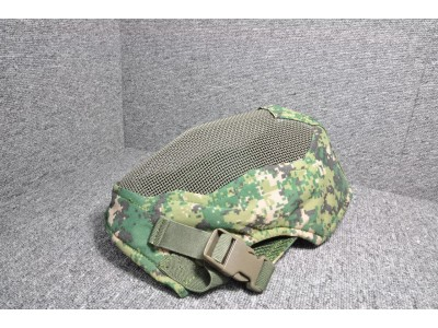 Extreme Metal Mesh Full Face Mask (Military Multicam)