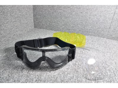 Tactical Shooting Protection Goggles (Black)