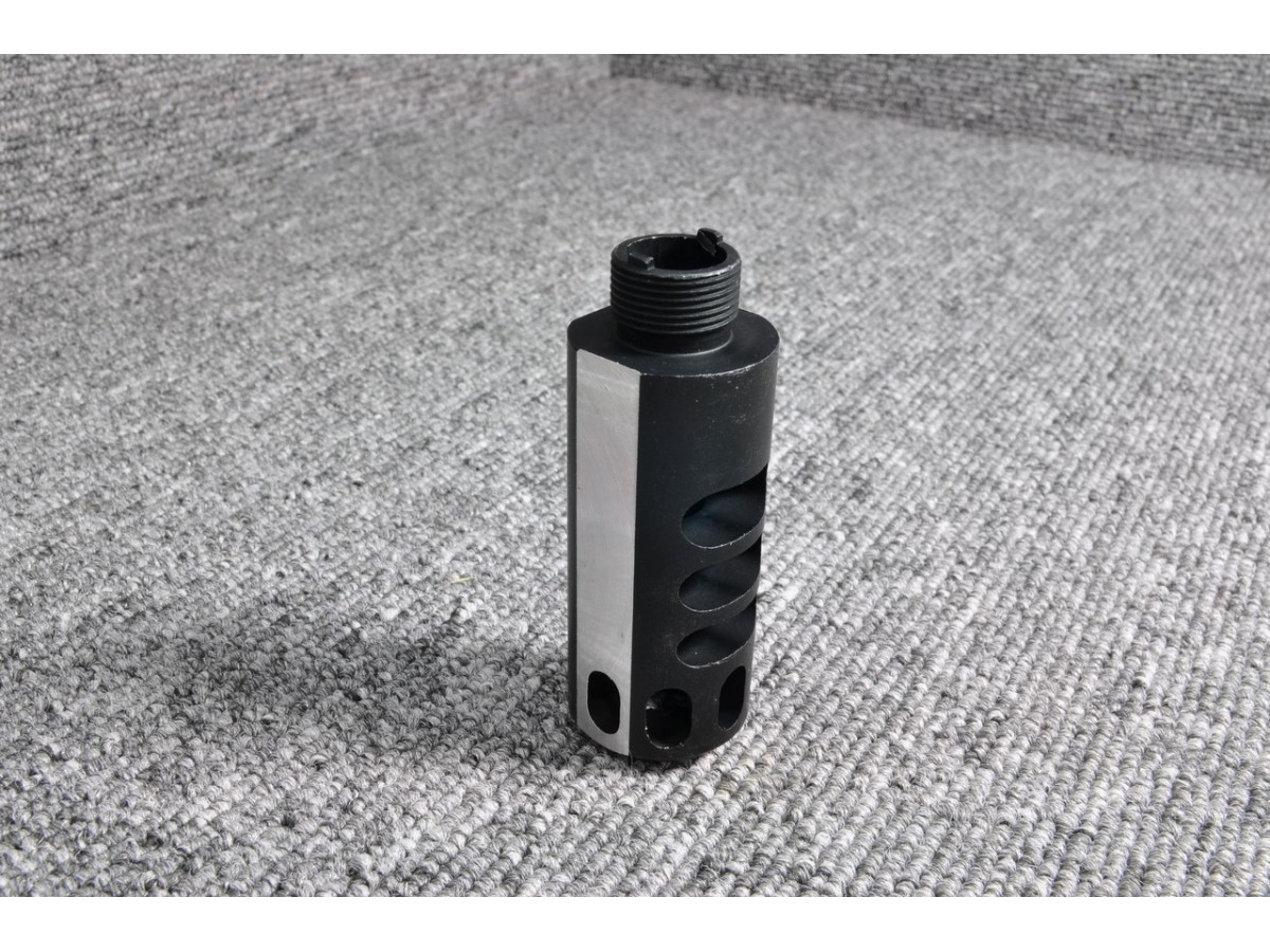 5KU Aluminum Compensator for Hi-Capa (Type 2, Black)