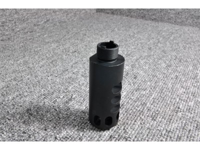 KU Aluminum Compensator for Hi-Capa (Type 2, Black)