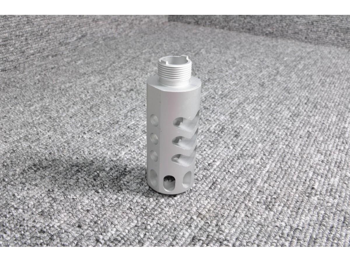 5KU Aluminum Compensator for Hi-Capa (Type3, Silver)