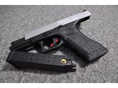 Bell ZEV Custom Glock 17 Pistol (Silver Slide)