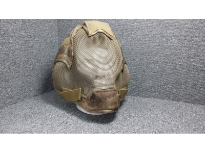 Extreme Metal Mesh Full Face Ears Mask (Desert Camouflage)