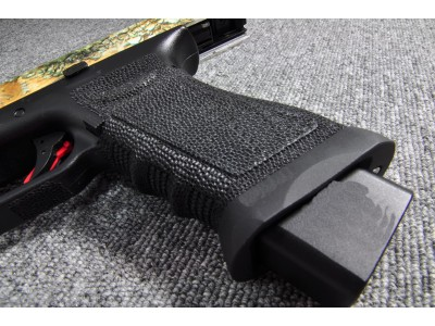 Bell ZEV II Glock 17 GBB Pistol (Camouflage Slide)