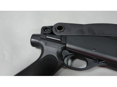 CYMA M870 Shotgun (Metal Body, Short Barrel/Foldable Stock version))
