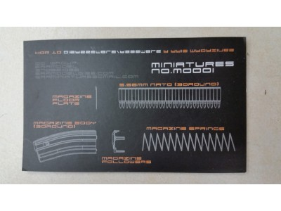 Model M4 Magazine (with 30 dummy bullets) -Promotion Price